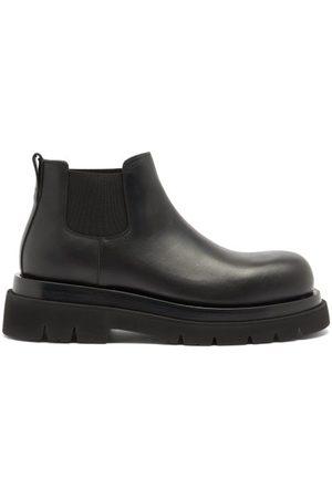 Bottega Veneta Tread-sole Leather Chelsea Boots