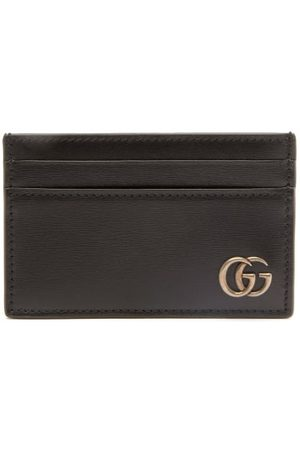 Gucci Gg Marmont Grained-leather Cardholder