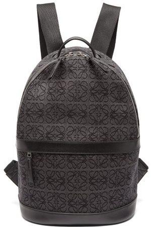 Loewe Anagram-jacquard Canvas Backpack