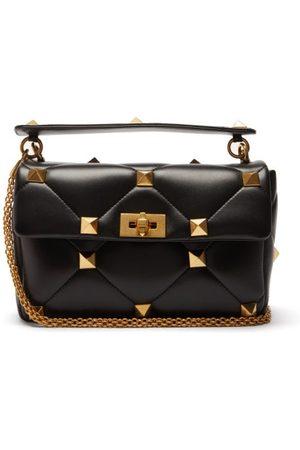 Valentino Garavani Roman Stud Quilted-leather Shoulder Bag