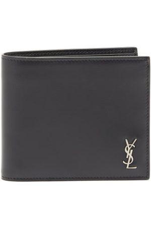 Saint Laurent Ysl-plaque Leather Bifold Wallet