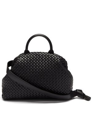 Bottega Veneta Handle Intrecciato-leather Shoulder Bag