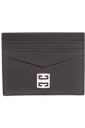 Givenchy Logo-plaque Leather Cardholder