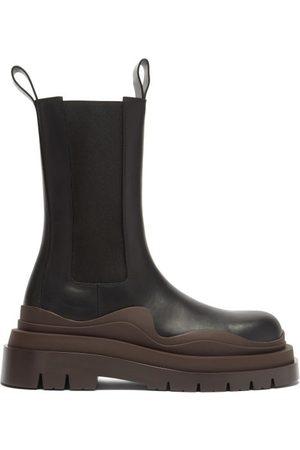 Bottega Veneta Bv Tire Leather Chelsea Boots