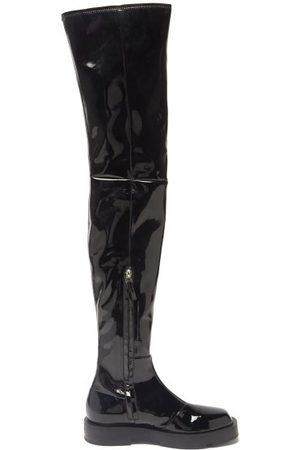 Givenchy Patent-leather Over-the-knee Boots