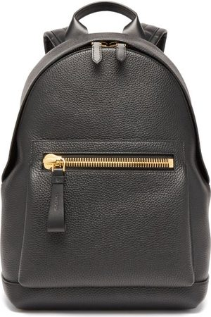 Tom Ford Buckley Grained-leather Backpack