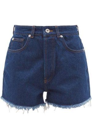 Paco Rabanne High-rise Denim Shorts