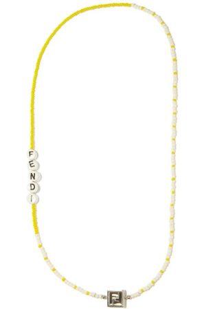 Fendi Logo-beaded Necklace