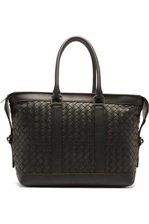 Bottega Veneta Intrecciato-woven Hydrology-leather Tote Bag