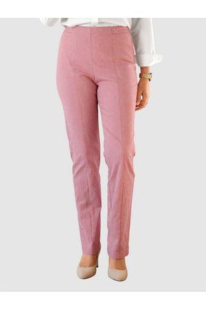 Paola Damen Stoffhosen - Stoffhose mit geradem Bein