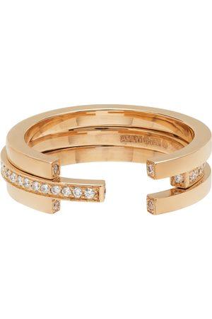 Annette Welander Gold Sequential 3 Arc Ring