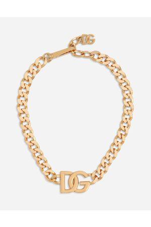 Dolce & Gabbana Gliederhalskette dg-logo male onesize