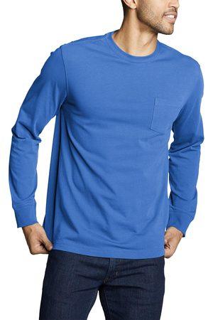 Eddie Bauer Herren Longsleeves - Legend Wash Pro Shirt - Langarm mit Tasche Herren Gr. S