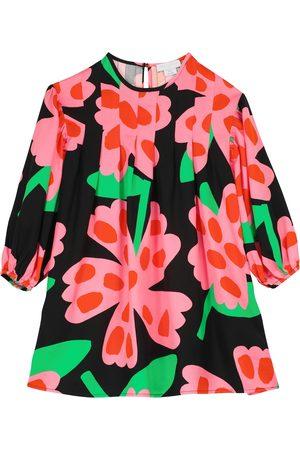 Stella McCartney Mädchen Bedruckte Kleider - Bedrucktes Kleid aus Twill