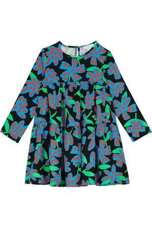 Stella McCartney Bedrucktes Kleid aus Twill