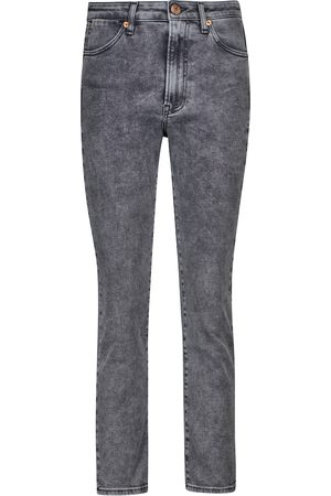 3x1 High-Rise Skinny Jeans Channel Seam