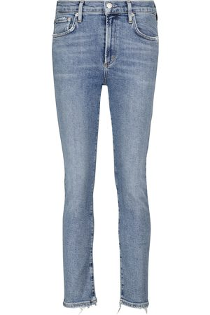 AGOLDE High-Rise Slim Jeans