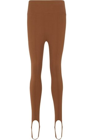 Zeynep Arcay High-Rise Steg-Leggings