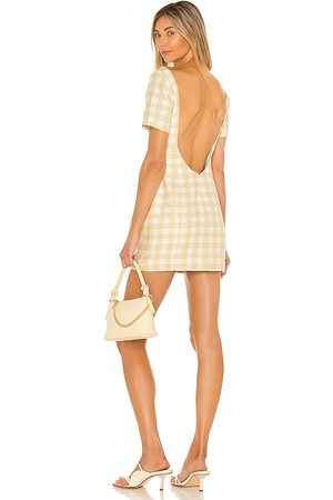 Camila Coelho Delphine Mini Dress in . Size XXS, XS, S, M, XL.