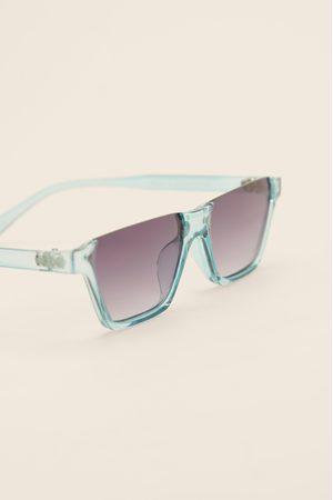 NA-KD Sonnenbrille Open Top - Blue