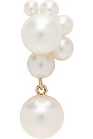 SOPHIE BILLE BRAHE Gold Pearl Federico Single Earring
