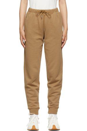 Totême SSENSE Exclusive Tan Organic Cotton Lounge Pants