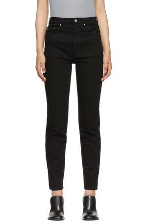 Totême Black Regular Fit Jeans