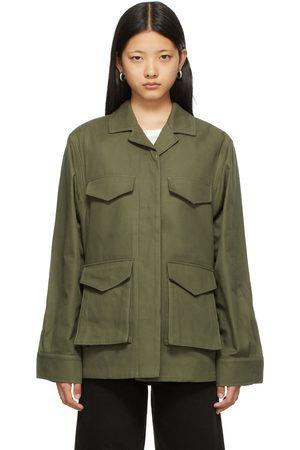 Totême Khaki Army Jacket