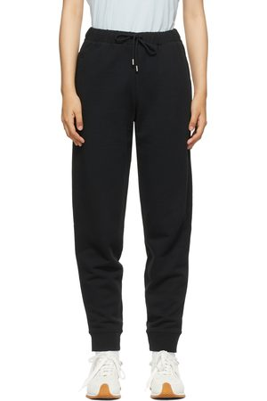 Totême SSENSE Exclusive Black Organic Cotton Lounge Pants