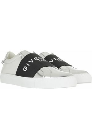 Givenchy Sneakers Mirror Effect Webbing Sneakers Leather silber