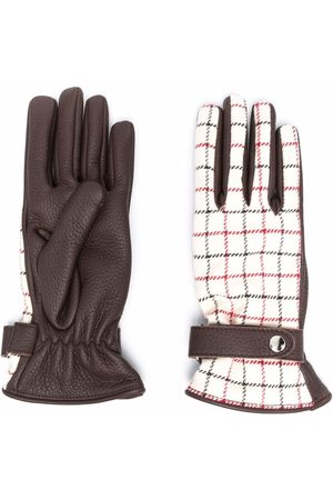 Maison Margiela Handschuhe mit Check