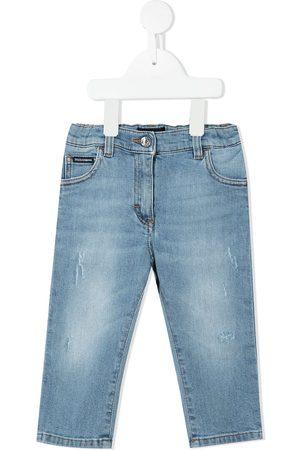 Dolce & Gabbana Kids Klassische Slim-Fit-Jeans