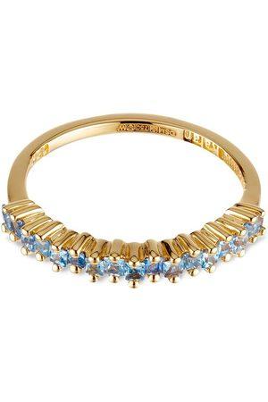 Suzanne Kalan Damen Ringe - 18kt Gelbgoldring mit Saphir