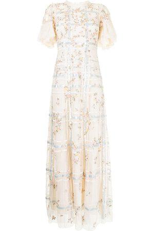 Needle & Thread Abendkleid mit Pailletten