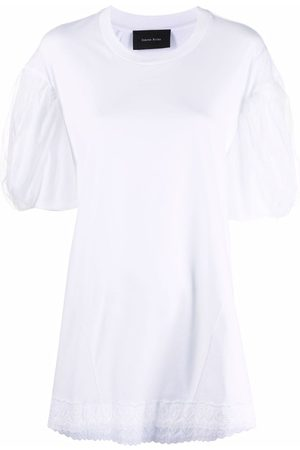 Simone Rocha T-Shirt mit Wellenkanten