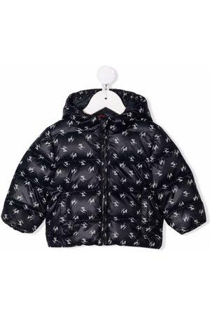 FAY KIDS Winterjacken - Gefütterte Jacke mit Logo-Print