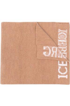 Iceberg Schal mit Logo-Print