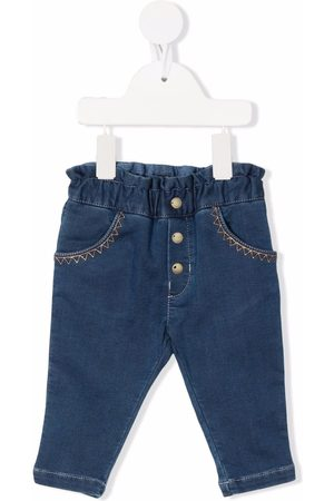 Chloé Jeans mit Ziernähten