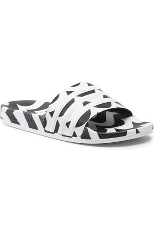 adidas Damen Clogs & Pantoletten - Adilette W GW7536 Cblack/Ftwwht/Terema