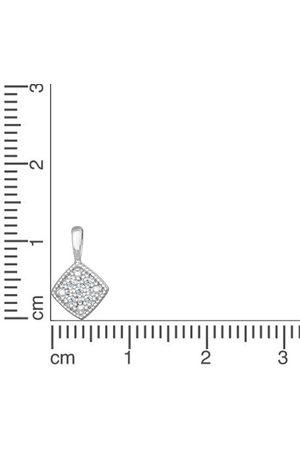 Orolino Damen Anhänger 585/- Gold Brillant 1,2cm, , OneSize