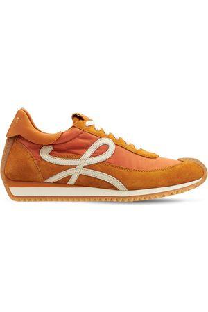 """Loewe Damen Sneakers - 20mm Sneakers Aus Wildleder & Nylon """"flow Runner"""""""