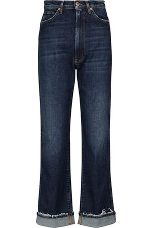 3x1 High-Rise Jeans Claudia mit geradem Bein