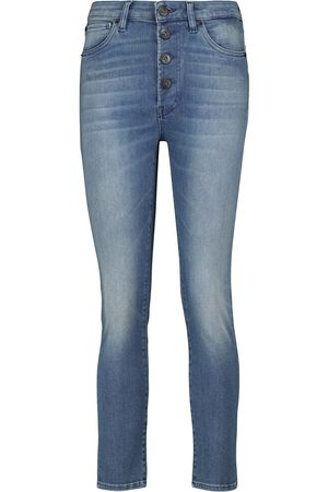 3x1 Mid-Rise Cropped Jeans Poppy im Skinny Fit