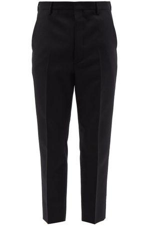 Prada Wool-blend Slim-leg Trousers