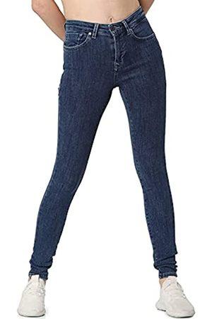 ONLY Female Skinny Fit Jeans ONLPower Mid Push Up L32Dark Blue Denim