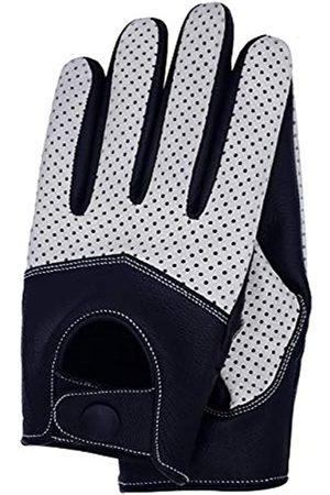 Riparo Motorsports Herren-Handschuhe aus Netz-Leder - - Large
