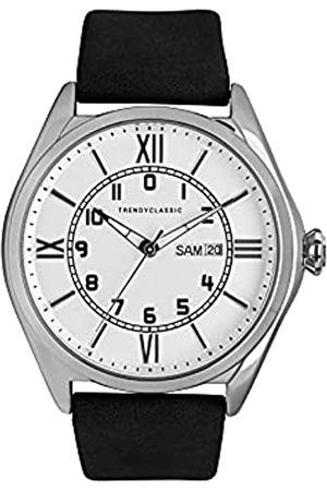 Trendy Classic Für Herren Analog Quarz Uhr mit Leder Armband CC1057-03