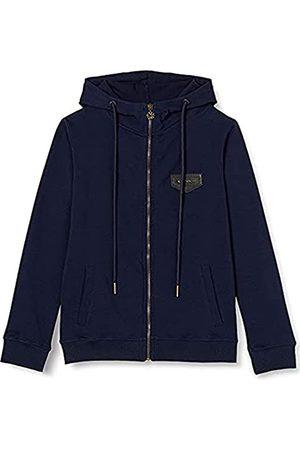 Gianni Kavanagh Damen Navy Blue Core Hoodie Jacket Kapuzenpullover