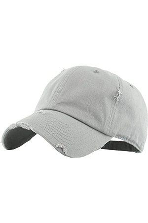 KBETHOS Vintage Washed Distressed Cotton Papa Hut Baseball Cap verstellbar Polo Trucker Unisex Style Headwear verstellbar