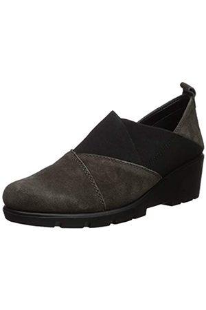 The Flexx Damen Crosstown Loafer flach, Beige (Fango Wildleder)